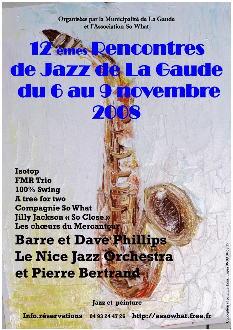Les rencontres du jazz de la Gaude 2008