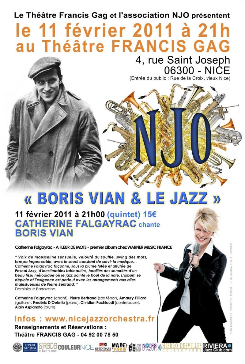 Boris Vian et le jazz 2011