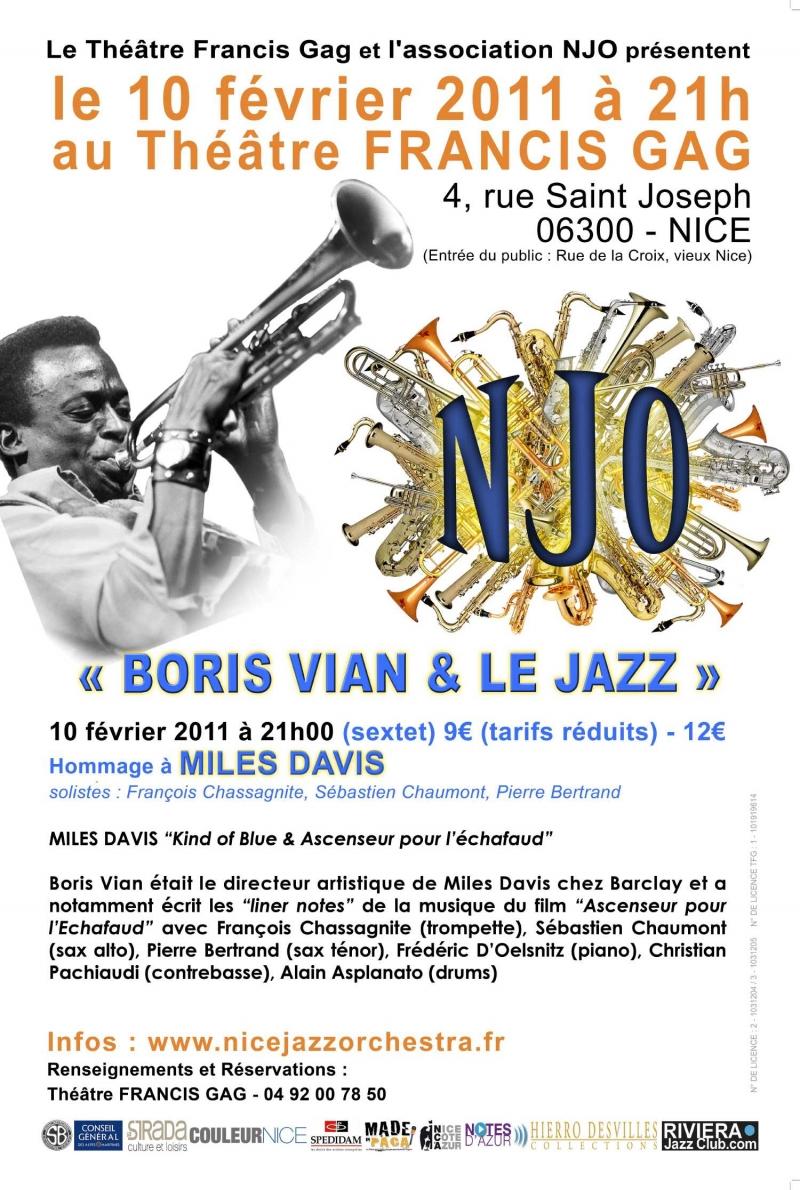 Boris Vian et le jazz 2011, Miles Davis