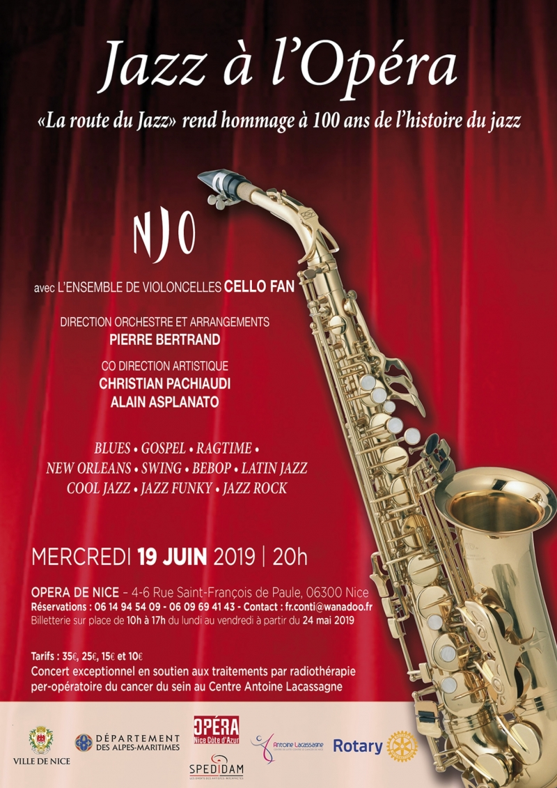 Jazz à l'Opéra 2019
