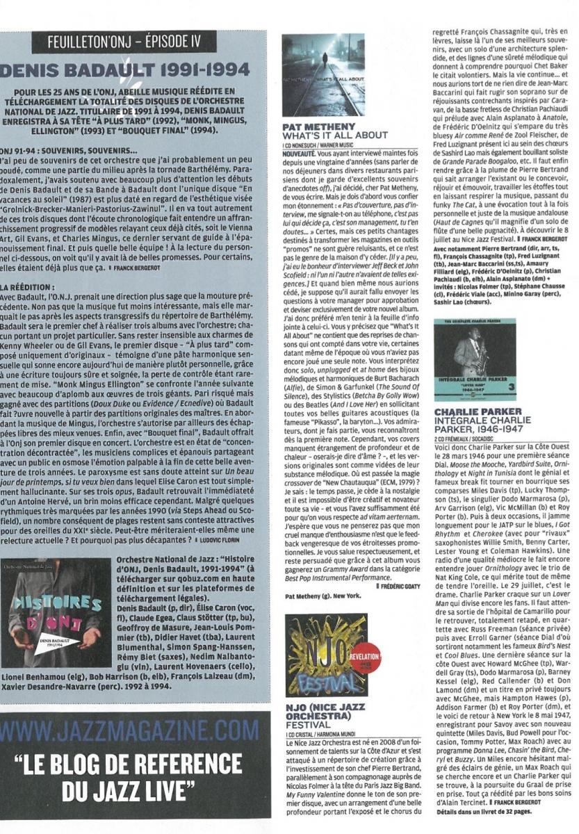 Jazz Mag Juillet Aout 2011