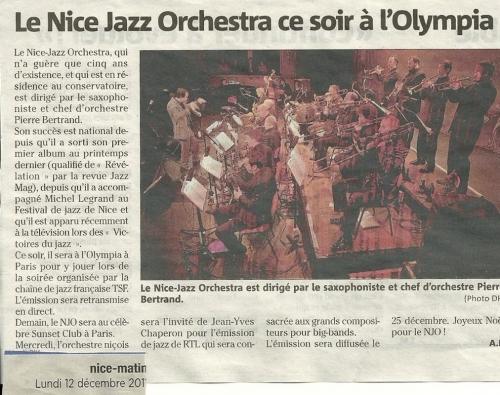 Nice matin Olympia 2011